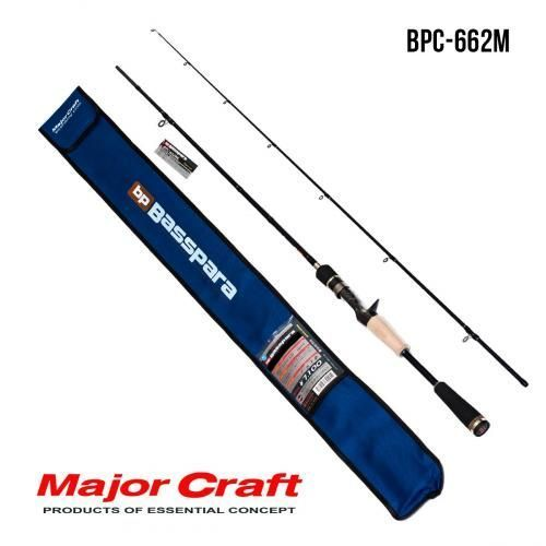 Удилище Major Craft Basspara casting  BPC-662M