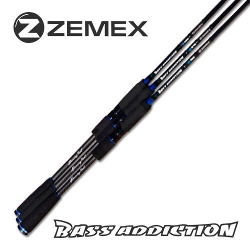 Удилище Zemex Bass Addiction Casting 1.98m, 3-15g