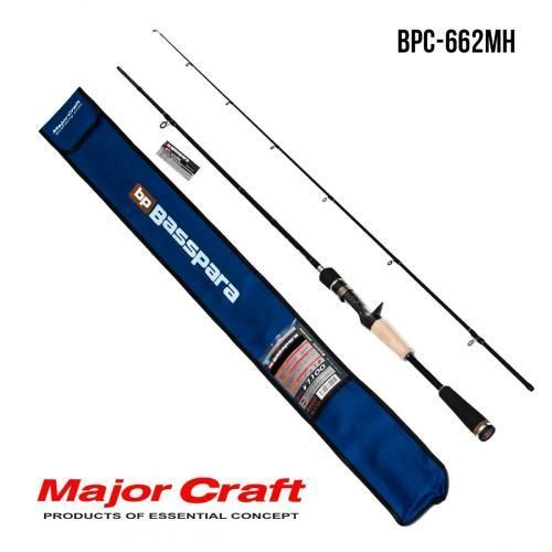 Удилище Major Craft Basspara casting  BPC-662MH